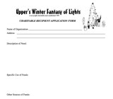 Fantasy Application Form
